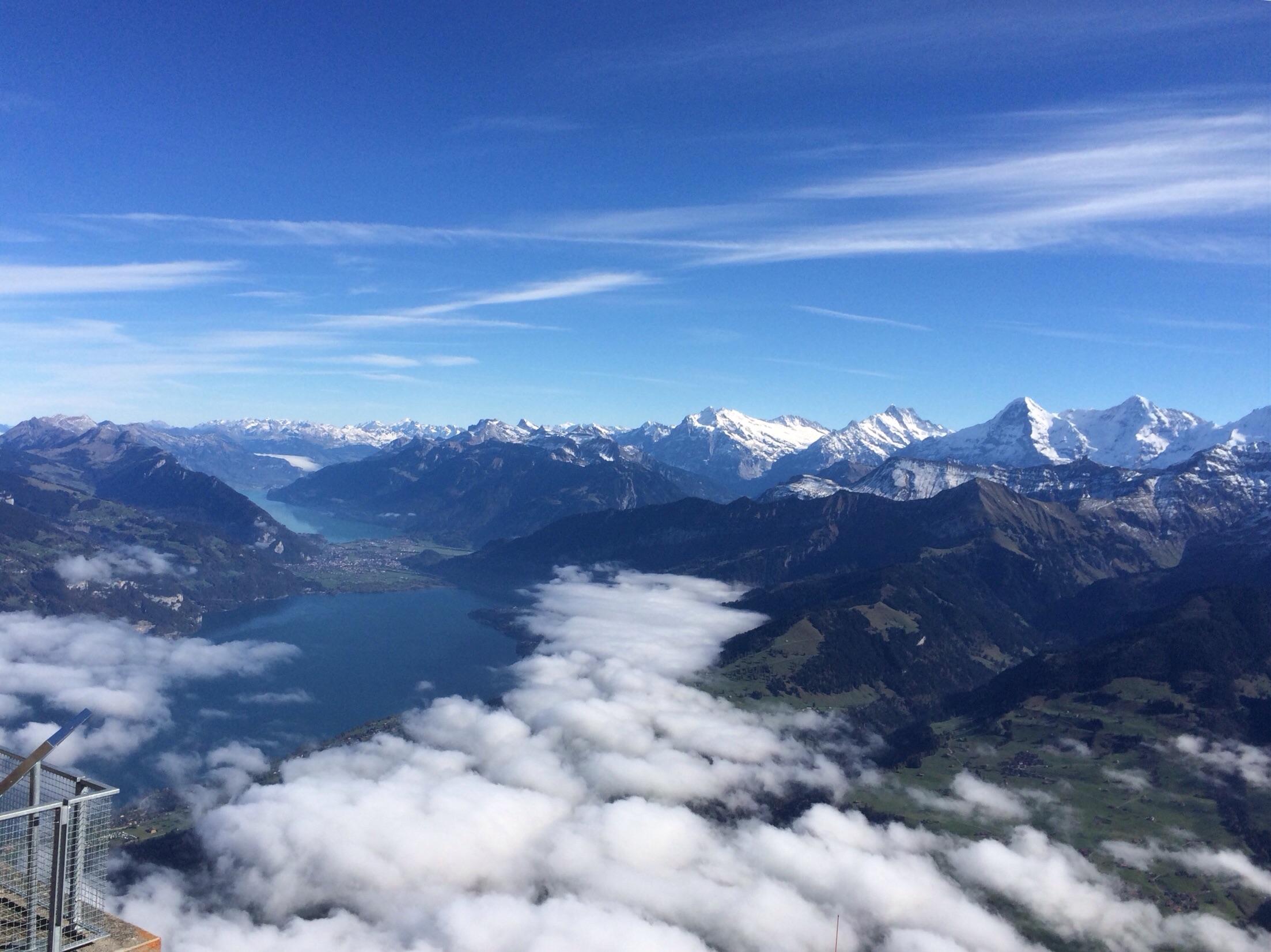Das Gipfelpanorama....